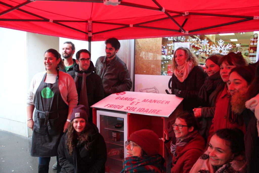Le 1er Garde-Manger Frigo Solidaire de Paris dans le 12e (2017)