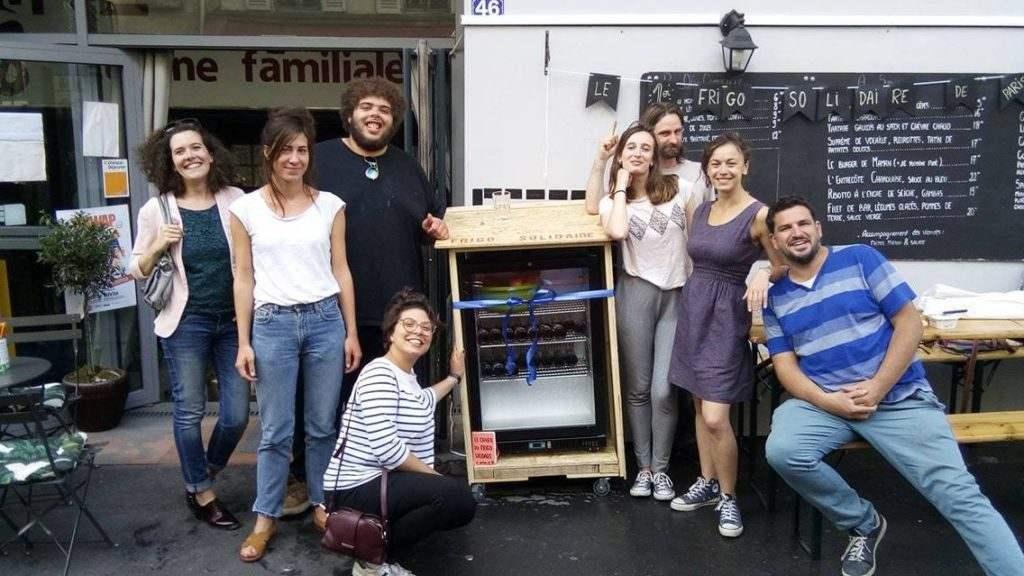 Le 1er frigo solidaire de Paris – La Cantine du 18 (2017)
