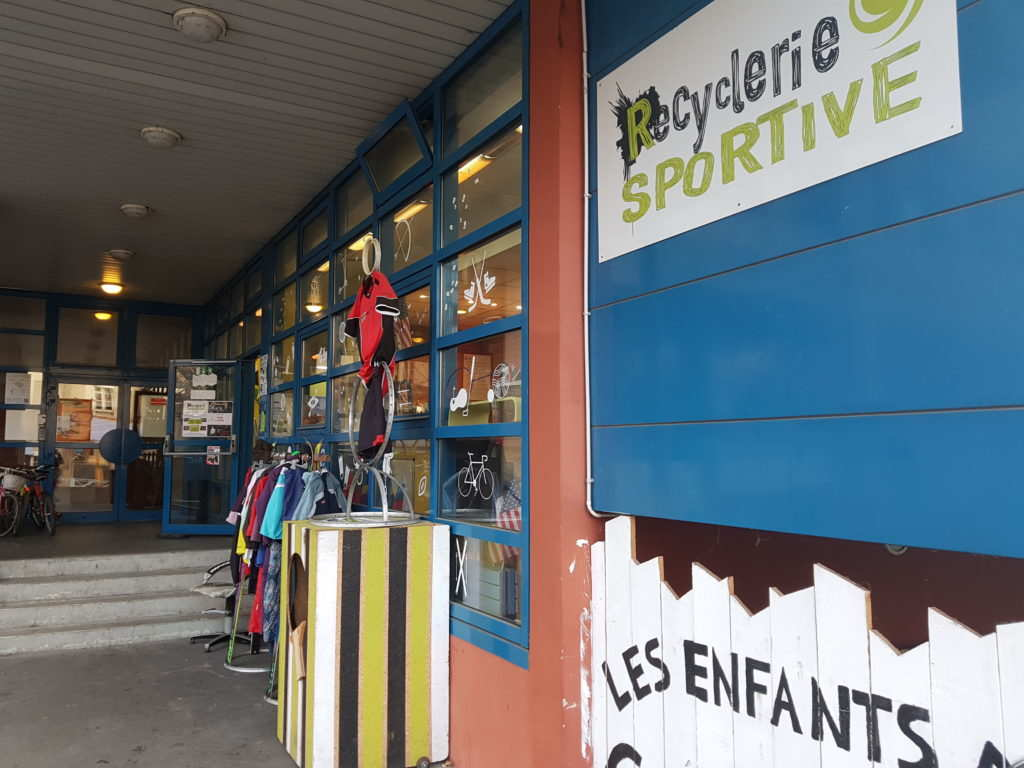 Recyclerie Sportive aux Grands Voisins (2017)