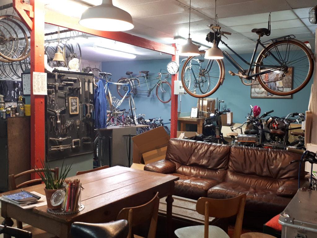 L'atelier de réparation de vélo à Rouen : Guidoline